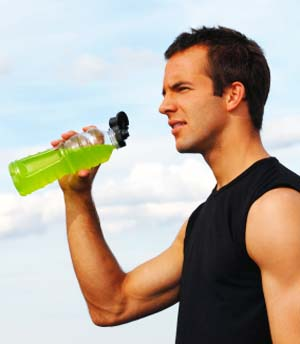 Спортивный энергетический напиток для спортсменов