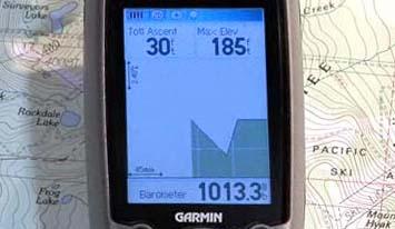 Барометрический высотомер в GPS-навигаторе
