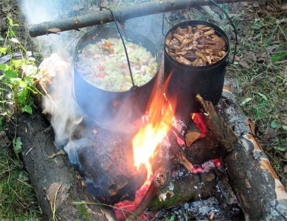 Пища в походе