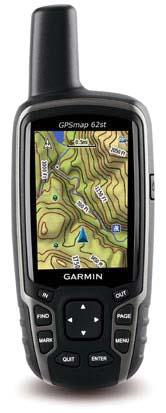 Цифровая карта на GPS-навигаторе