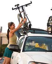 Автомобильный багажник для перевозки велосипеда