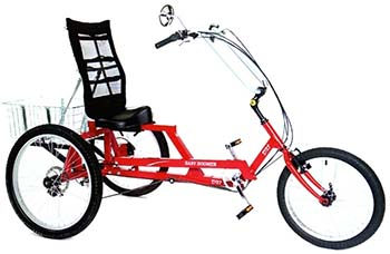 7-скоростной лежачий трехколесный велосипед Lonestar Baby Boomer