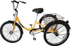 Трёхколесный велосипед Husky Industrial