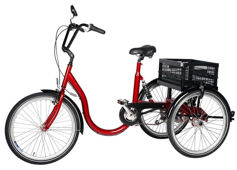 Трёхколесный велосипед с