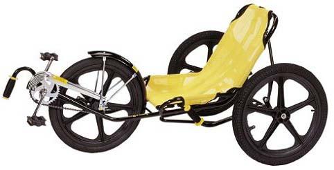 Трёхколёсный велосипед Trailmate Funcycle