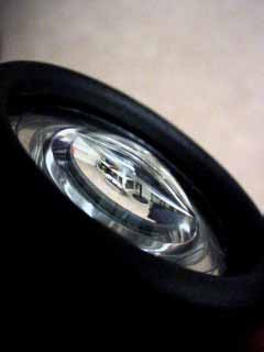 Фонарик светодиодный с линзой