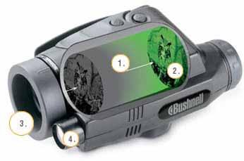 Схема прибора ночного видения Bushnell