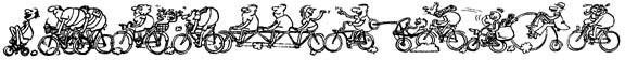 Велосипедная карикатура