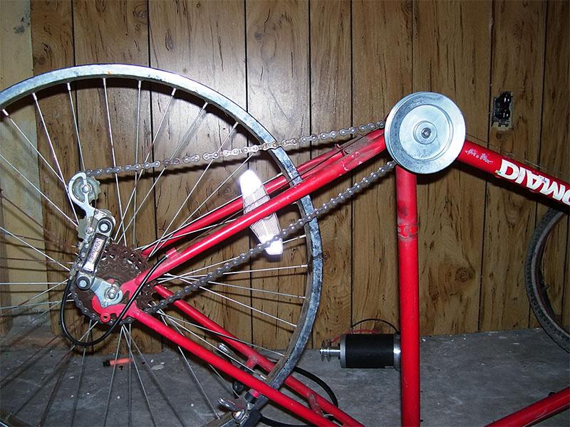 Привод электрического велосипеда
