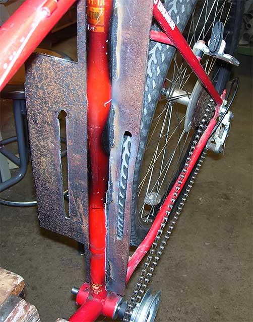 Установка мотора на электрический велосипед