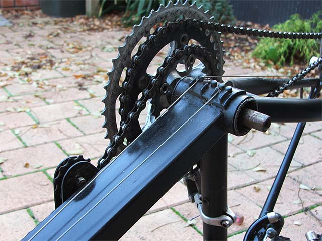 Промежуточный привод для лежачего велосипеда своими руками