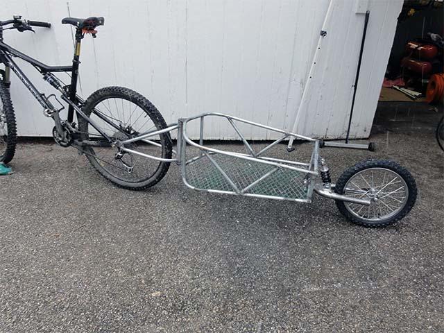 Грузовой велосипедный прицеп