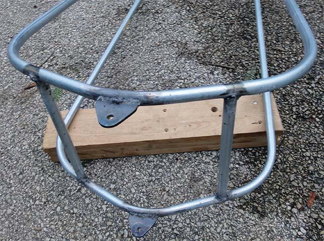 Трубчатый каркас для рамы велоприцепа