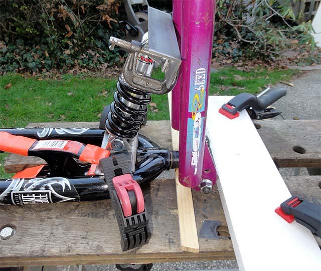 Сварка деталей самодельного велоприцепа