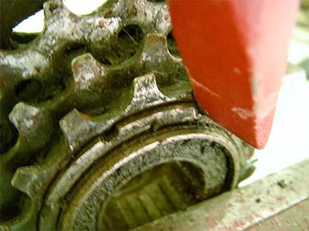 Задняя кассета велосипеда