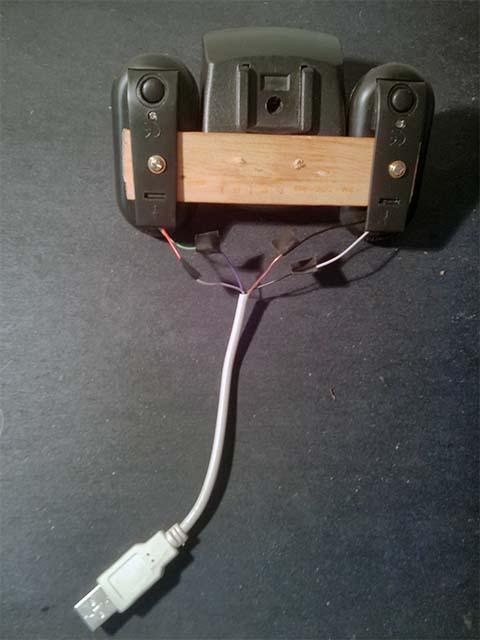Подключение кабеля к самодельным поворотникам