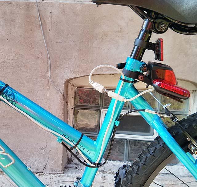Самодельные поворотники на велосипеде