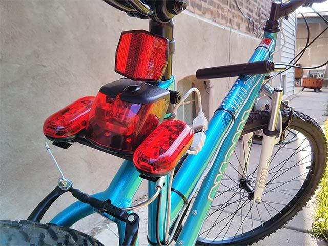 Поворотники на велосипед своими руками