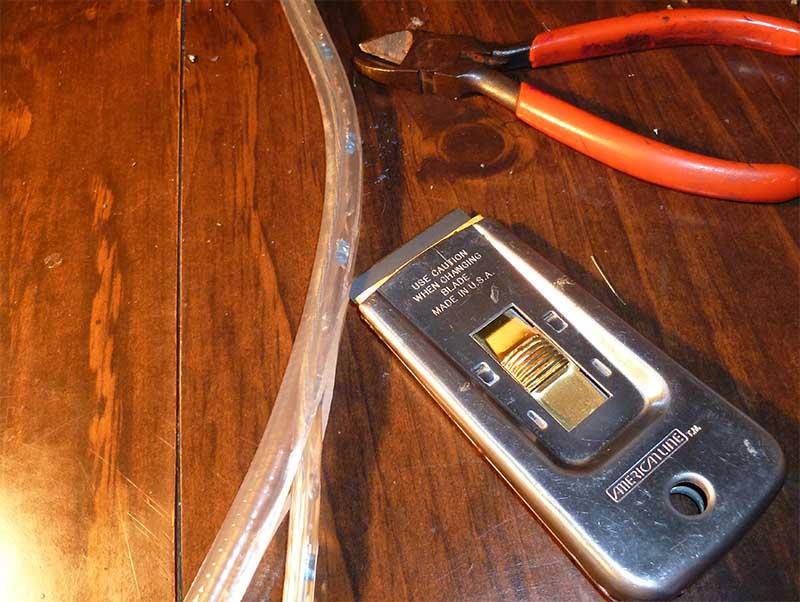 Разрезание светодиодной ленты