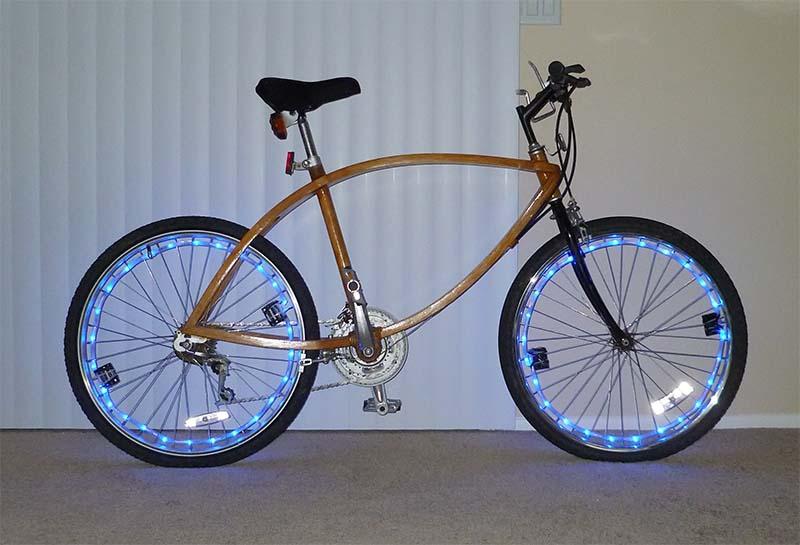 Светодиодная подсветка велосипеда своими руками