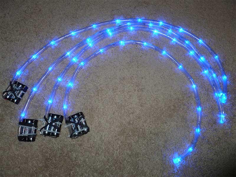 Светильник светодиодный своими руками на батарейках