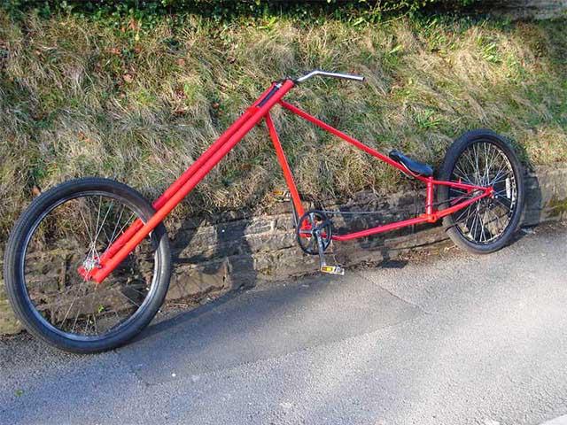 Самодельный велосипед чоппер