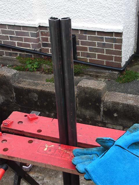Измерения для вилки
