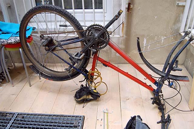 Сборка велосипеда своими руками 84