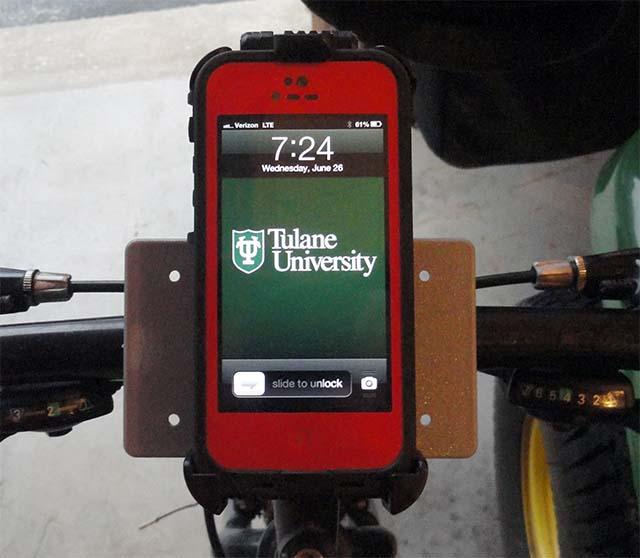 Держатель для сотового телефона руль велосипеда