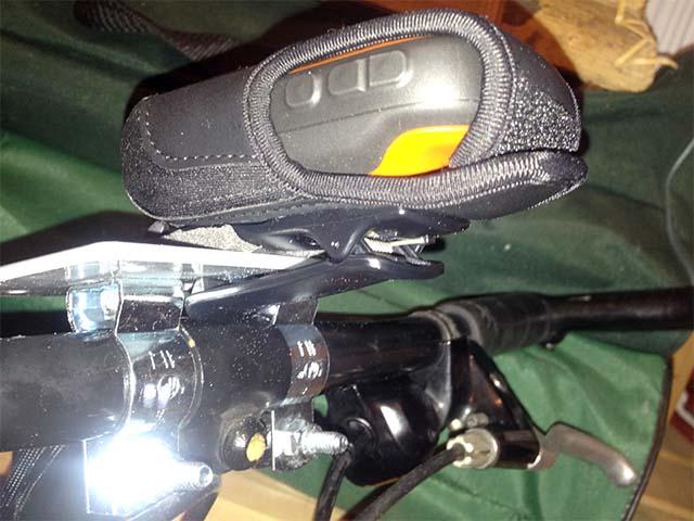 Самодельное крепление для GPS-навигатора