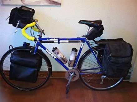 Самодельные сумки для велосипеда