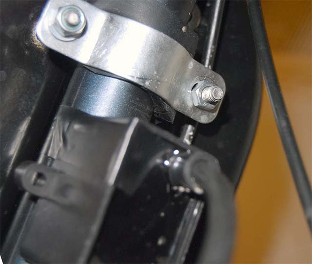 Установка бака для бензина на велосипед