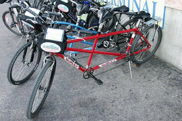 Велосипеды тандемы