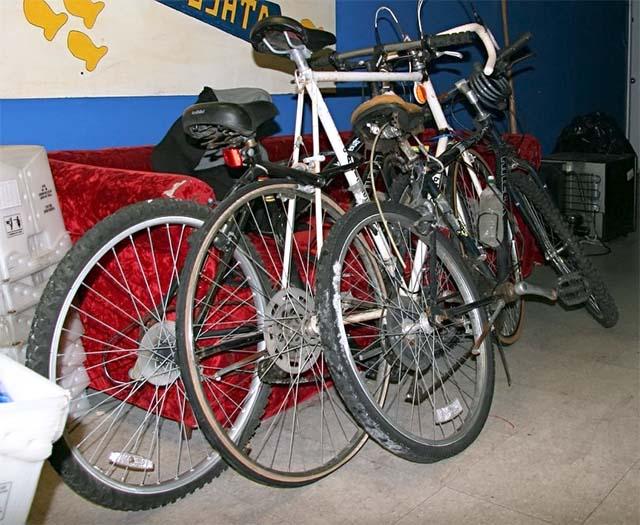 Исходные велосипеды