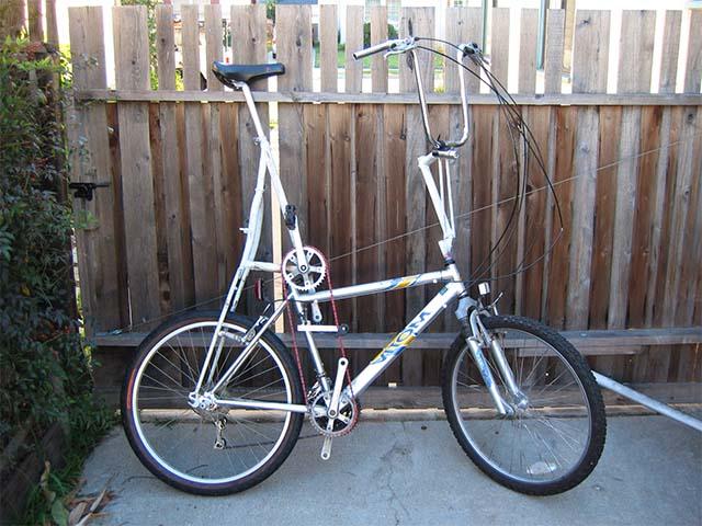 Высокий велосипед