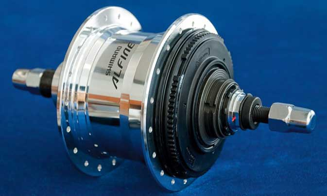 Планетарная втулка Shimano Alfine 11 SG-S700
