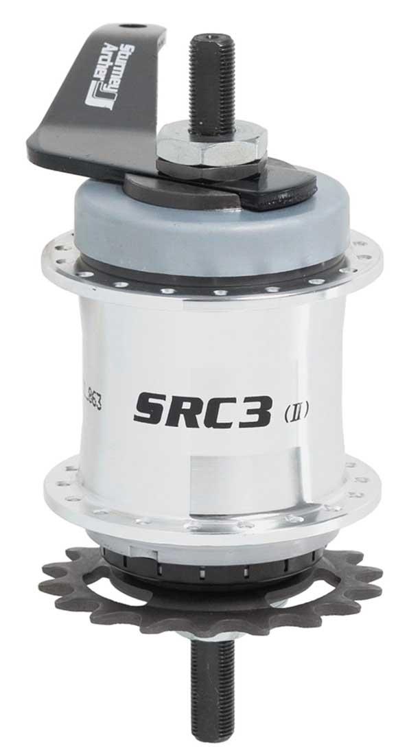 3-скоростная планетарная втулка Sturmey-Archer SRC3
