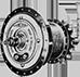 Трёхскоростная втулка Sturmey Archer с функцией динамо-машины