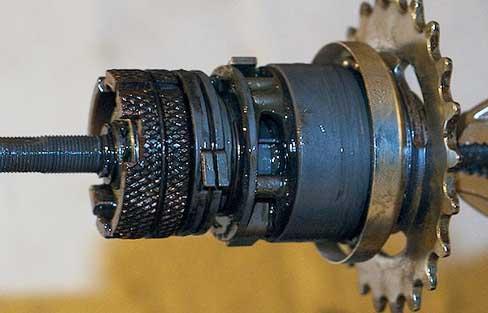 Планетарный механизм планетарной втулки Sturmey Archer S2C