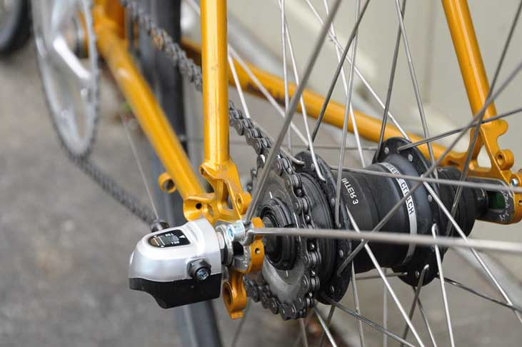 Велосипед с Shimano Nexus 3