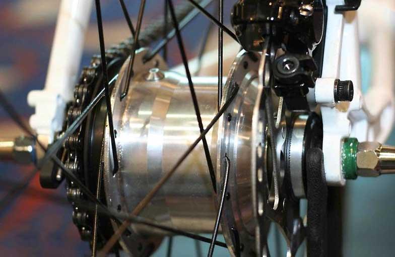 Велосипед с планетарной втулкой Shimano Alfine 11
