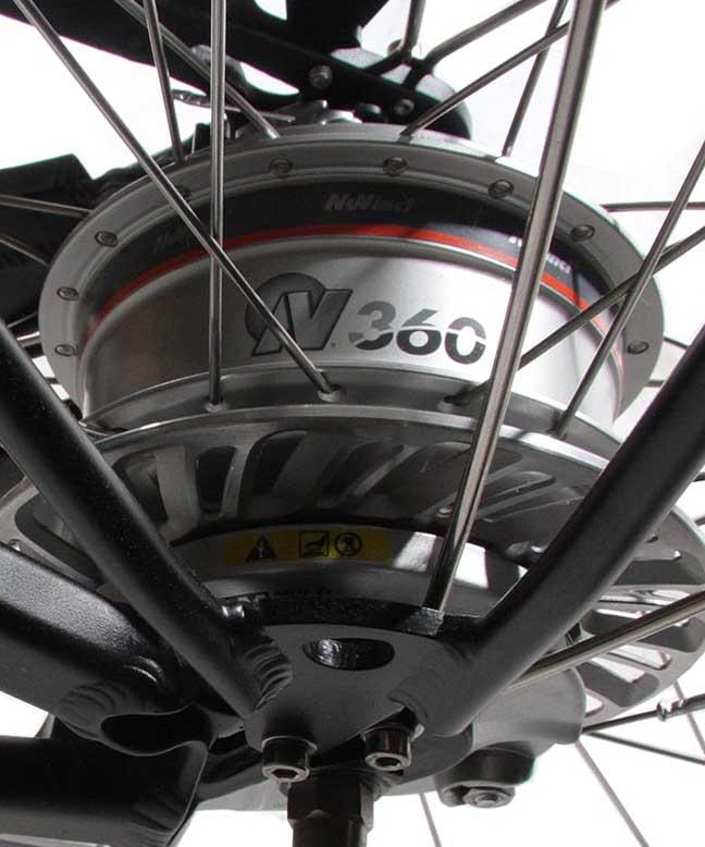 Велосипед с вариатором Nuvinci CVP