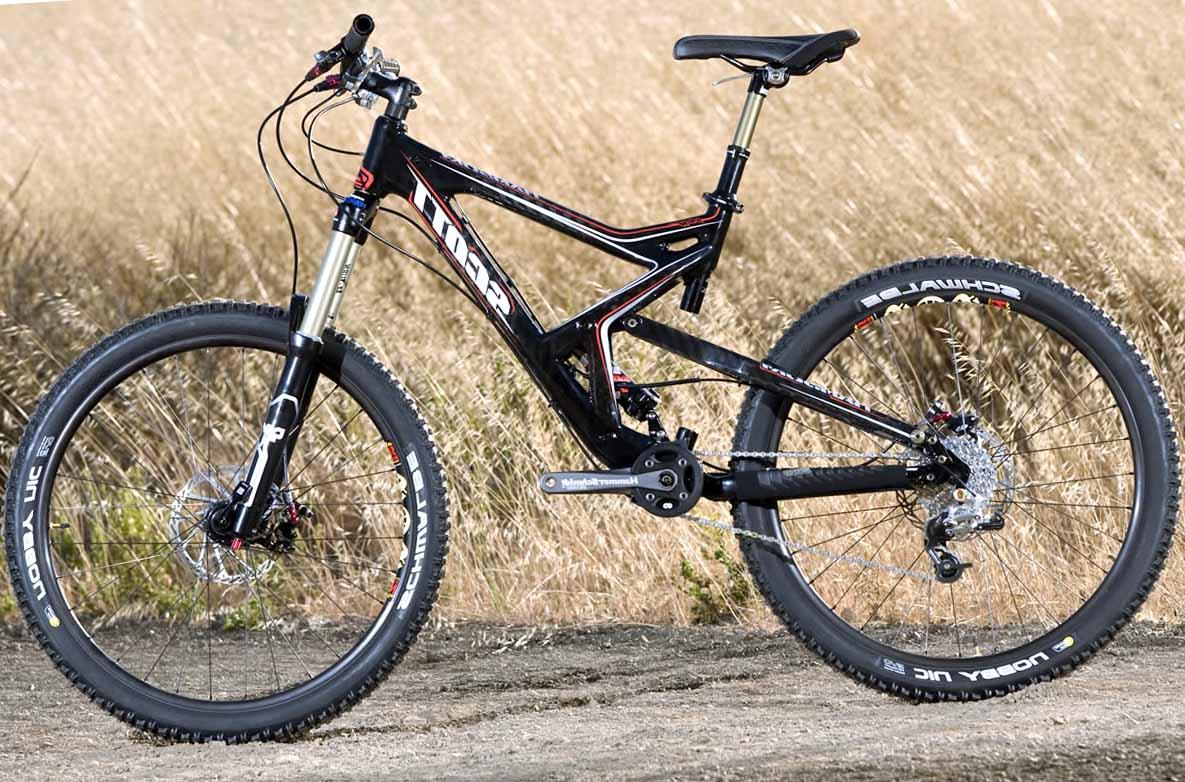 Клиренс велосипеда с системой Truvativ HammerSchmidt