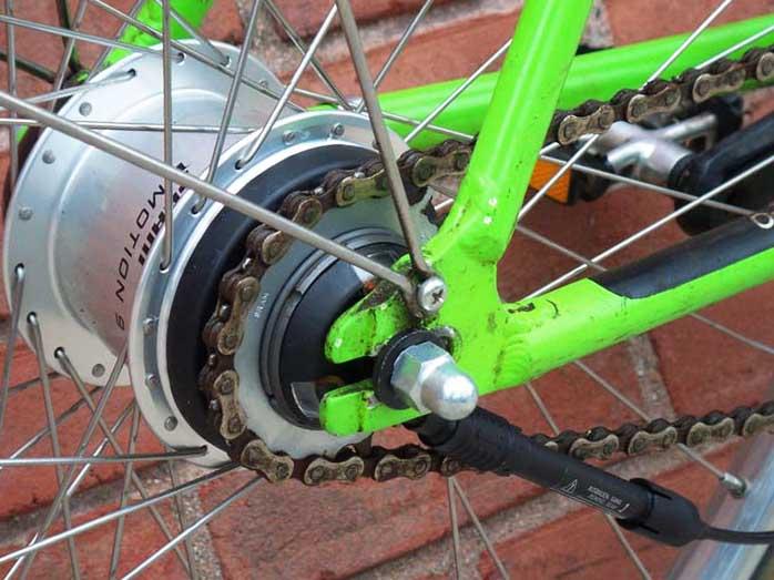 9-скоростной велосипед на планетарной втулке Sram