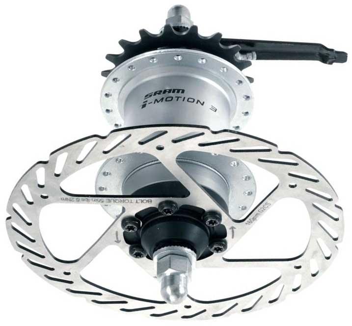 Планетарная втулка Sram i-Motion 3 для велосипеда
