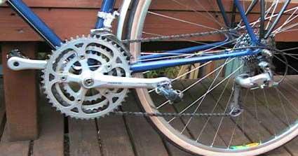 Велосипед с дерайлером