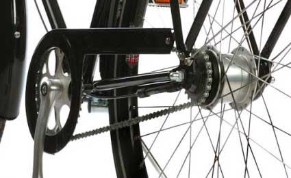 Велосипед с планетарной втулкой