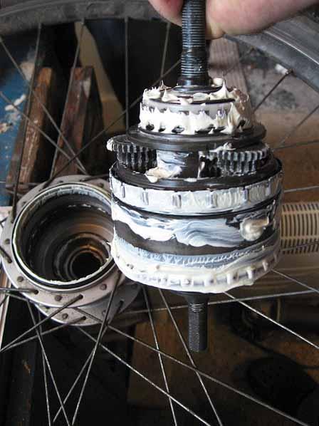 Втулка с планетарным переключением передач