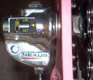 Настройка коленчатого рычага 3-скоростной втулки Shimano Nexus