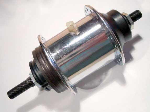Старая 3-скоростная планетарная втулка Shimano